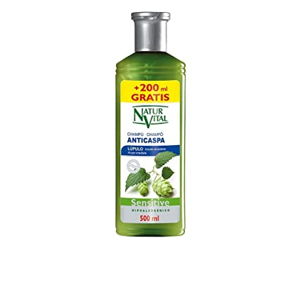 Naturaleza y Vida Sensitive Anticaspa Champú - 500 ml