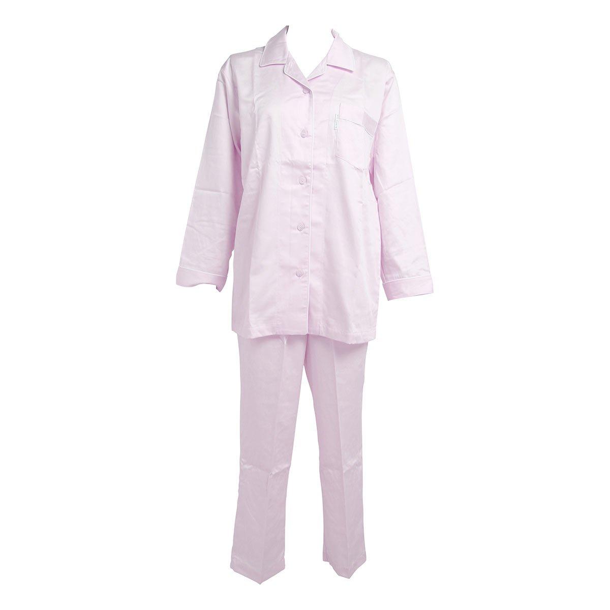 【ワコール/Wacoal】睡眠科学 レディース シャツパジャマ 綿100% B00E3QI7RA S PU-パープル PU-パープル S
