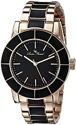 Lucien Piccard Women's LP-12925-RB-11 Burgos Analog Display Japanese Quartz Two Tone Watch