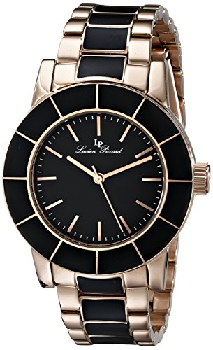 Lucien Piccard Women's LP-12925-RB-11 Burgos Analog Display Japanese Quartz Two Tone Watch