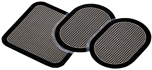 Slendertone Replacement Gel Pads for All Slendertone Abdominal Belts, 1 Set (3 Gel Pads)