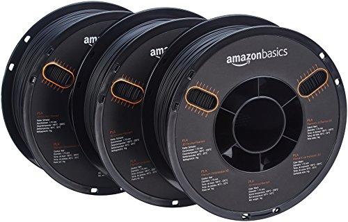AmazonBasics-PLA-3D-Printer-Filament-175mm-Black-1-kg-Spool-3-Spools