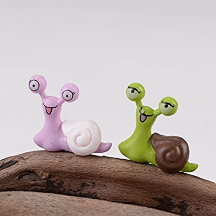 send random : Big Eye Snails Animal Miniature Fairy Garden Home Houses Decoration Mini Craft Micro Landscaping Decor DIY Accessories