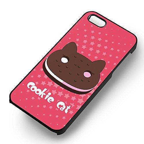 Cookie Cat Steven Universe pour Coque Iphone 6 et Coque Iphone 6s Case (Noir Boîtier en plastique dur) U3F7DO