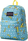JanSport Unisex SuperBreak Blue Topaz/Oh Bananas One Size