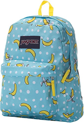 JanSport Unisex SuperBreak Blue Topaz Oh Bananas One Size