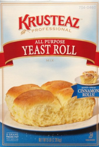 Krusteaz Professional All Purpose YEAST ROLL Mix 5lb. (2-Pack) by Krusteaz