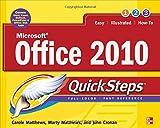 Microsoft Office 2010, Marty Matthews and Carole Matthews, 0071741607
