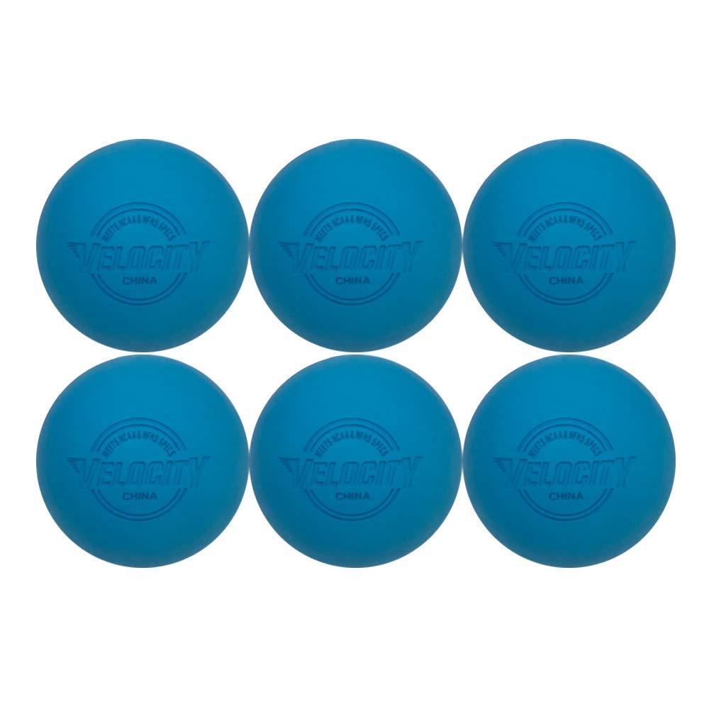 Velocity ラクロスボール 6パック 大人&子供用 大人&子供用 公式サイズ プロ 高校生 大学 高校生 NOCSAE ライトブルー、NCAA、NFHS認定。 色:イエロー、オレンジ、ホワイト。 B07KR8Z2TL ライトブルー ライトブルー, APS-ipp:0aa19c45 --- zonespirits.xyz