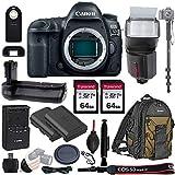 Canon EOS 5D Mark IV Full Frame DSLR Camera Body - with Pro...