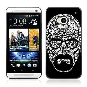 Designer Depo Hard Protection Case for HTC One M7 / Walter White Heisenberg Breaking Bad