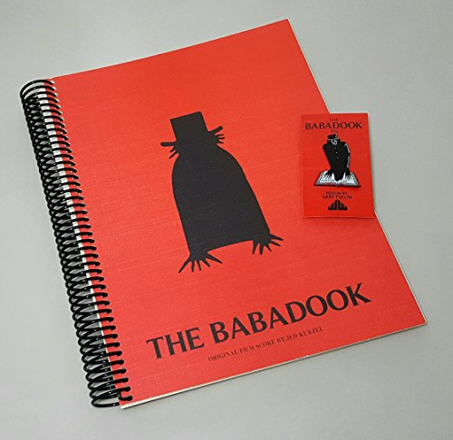 The Babadook Soundtrack   Album Cover Spiral Notebook   Enamel Pin   Movie Gifts   Horror Movie Gifts