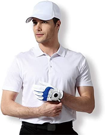 Yishelle Camiseta para Hombre, Verano Golf Ropa para Hombres Camiseta de Manga Corta de Solapa para Hombre Blusa con Cuello Adulto Comodidad Camisa Polo de algodón Suave Casual Wear Regular Fit: Amazon.es: