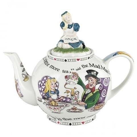 Alice in Wonderland Teapot 48oz By Cardew Design - Tea Hostess Set