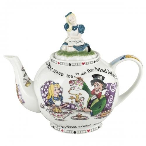 Alice in Wonderland Teapot 48oz By Cardew Design