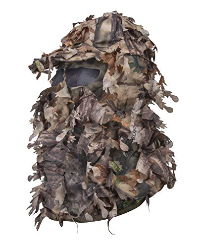 North Mountain Gear Wicked Woods Camouflage Full Cover Leafy Hat with Adjustable Closure (Brown)