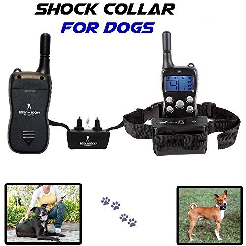 #1 Rated Dog Training Collar with Remote Clear L.c.d Display with Ergonomic Design Great for Dog Training and Stop Barking 100% Satisfaction Guarantee