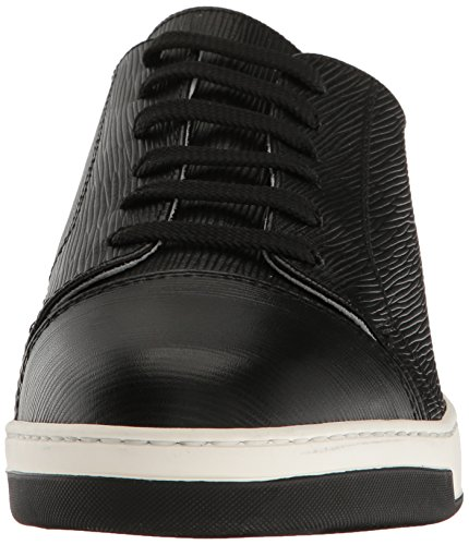 Bugatchi Mens Santori Fashion Sneaker Nero