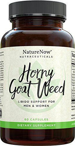 Horny Goat Weed Extract With Maca Root By NatureNow Is The #1 Best Selling Natural Health Supplement Made In The USA To Help Men And Women Increase Energy, Performance, Enhance (Adam Eve Costume Make)