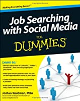 Job Searching with Social Media For Dummies Front Cover