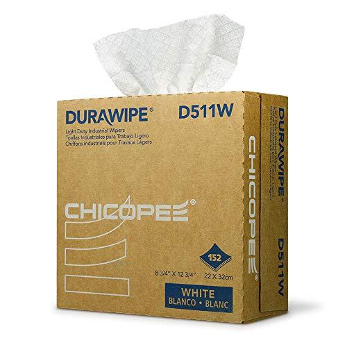 Chicopee D511W Durawipe Light Duty Industrial Wiper, 8.75