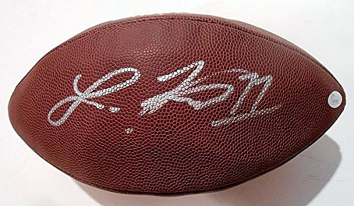 Autographed Nfl Replica Football - Laquon Treadwell Autographed Signature Autographed Signature NFL Replica Game Football withJSA Certified Wp99884 Vikings