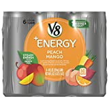 mango peach juice - V8 +Energy, Peach Mango, 8 Ounce, 6 Count (Packaging May Vary)