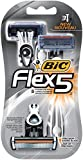 BIC Flex 5 Men's 5-Blade Disposable Razor, 3 Count