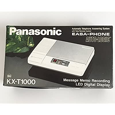 Image of Answering Devices Panasonic Easa-Phone Cassette Tape Answering Machine