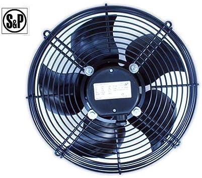 DOJA Industrial | Ventilador S&P HRB/4-350 APN impelente ...