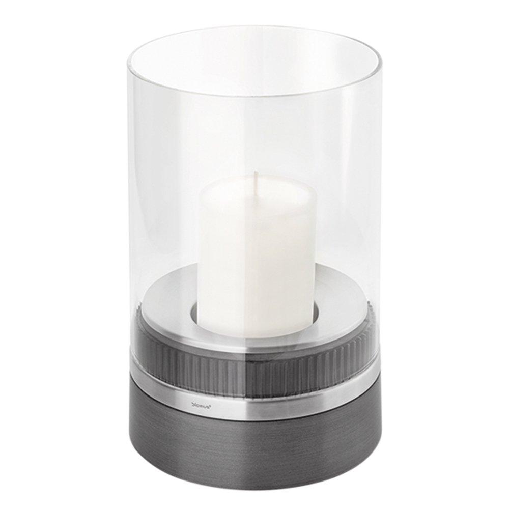 Blomus 65094 Lantern with Candle - Dark Grey