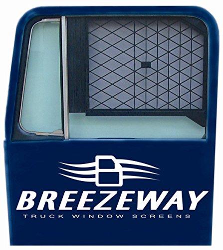 Breezeway Screens #1 Black Full Sized Truck Window -