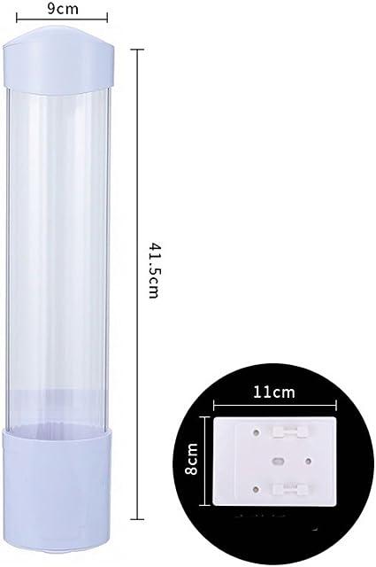 Distributore di bicchieri di plastica Taglia libera White