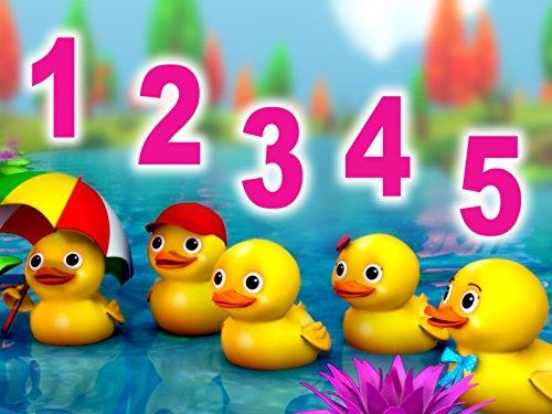 Little Five Ducks (Five Little Ducks)