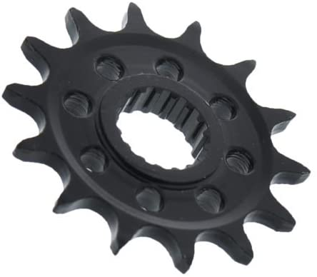 2004 2005 Fits Honda TRX450R 450R 14 Tooth Front /& 38 Tooth Rear Black Sprocket