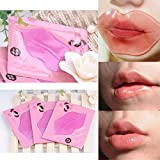 Kakaxi(TM) Collagen Crystal Lip Mask Lip Care Mask Moisture Essence (5 Pcs)