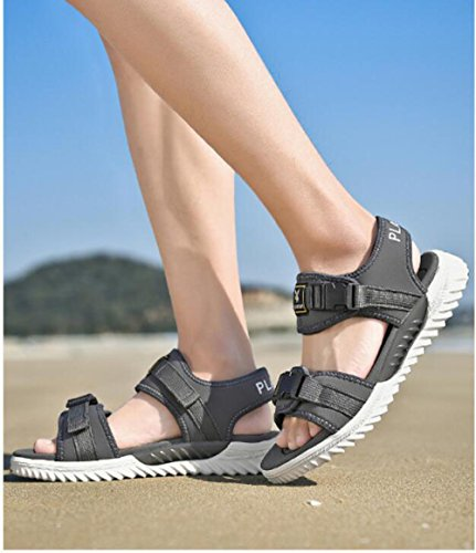 Casual Asciugatura Summer Studenti Rapida Trendy Uomo Scarpe Beach Outdoor da Shoes Fashion Grey AD Sandali Sandali Morbide wEBq06vx