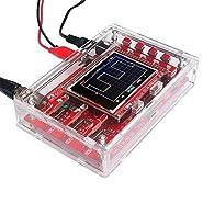 "ShineBear 1PCS NEW DSO138 2.4"" TFT Digital Oscilloscope Acrylic Case DIY Kit SMD Soldered"