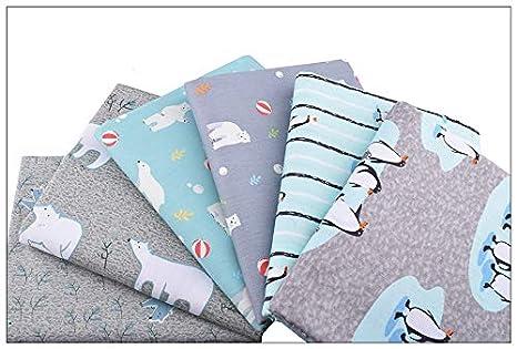 6 Ideales telas ositos invierno para canastillas, vestiditos, cocinas, cojines, costura,