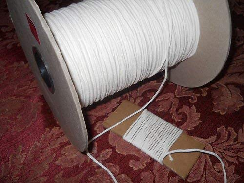 Square Braided 4//0 Cotton Wick 10 Yards