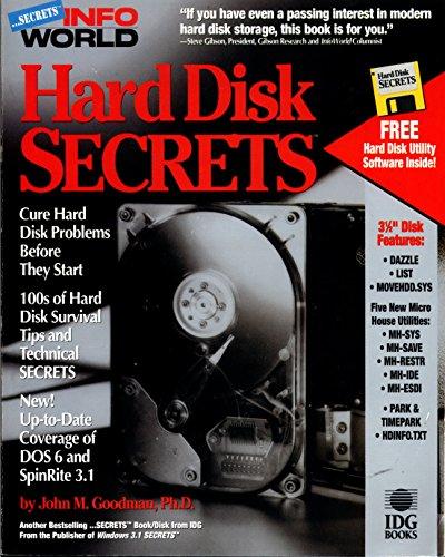 Hardware Computer Cd / Dvd - Hard Disk Secrets (Infoworld Secrets/Book and Disk)