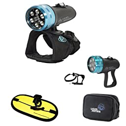 Light & Motion Sola Dive 800 LED Light with Pistol Grip and Float Strap