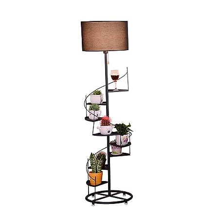 Amazon.com: FGLDD Floor lamp, Living Room Creative Spiral ...