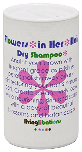 Living Libations - Organic/Wildcrafted Flowers in Her Hair Dry Shampoo (1 oz/30 ml)