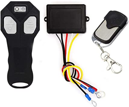 Niome Wireless Winch Remote Control Kit Switch Handset DC12V For Car ATV SUV UTV Truck With Remote Controller