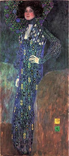 Oil Painting 'Bildnis Emilie Floege, 1902', 16 x 36 inch / 41 x 91 cm , on High Definition HD canvas prints is for Gifts And Bath Room, Gym And Kids Room Decoration, large (Chameleon Pajama Costume)