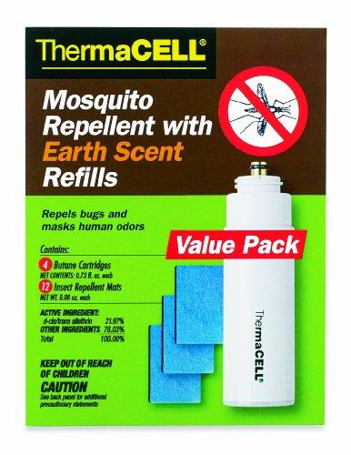ThermaCELL E 4 Земля Запах комаров 48-часовой Запасная упаковка для приборов и фонари