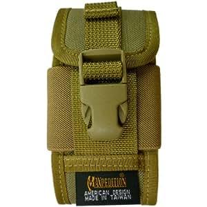 Maxpedition - Funda con pinza para PDA/iPhone/GPS/radio para el cinturón, diseño militar, color caqui
