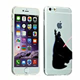 iPhone 6S Case, DURARMOR FlexArmor [Lifetime Warranty] iPhone 6 Cover Star Wars Darth Vader Holding Apple Flexible Bumper ScratchSafe TPU Ultra Thin Case Protector Cover for 4.7 inches iPhone 6 / 6s