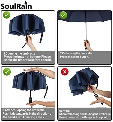 TRAN-SFORMERS Rad Bumblebee Retro 80s Windproof Compact Auto Open And Close Folding Umbrella,Automatic Foldable Travel Parasol Umbrella